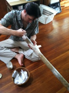 Rainstick repair